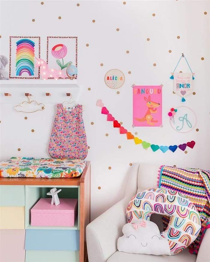 quarto de infantil feminino