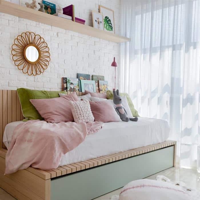quarto infantil feminino decorado