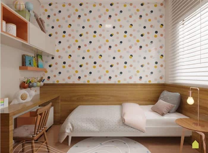 quarto infantil feminino moderno