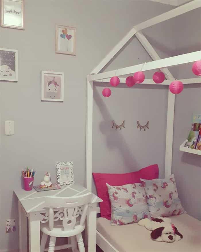 quarto infantil feminino montessoriano