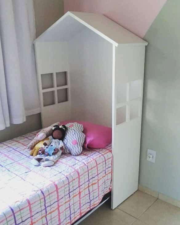 quarto infantil feminino pequeno