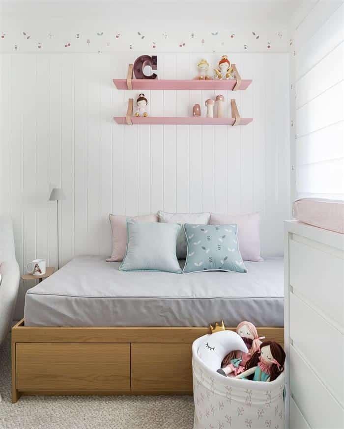 quarto infantil feminino planejado