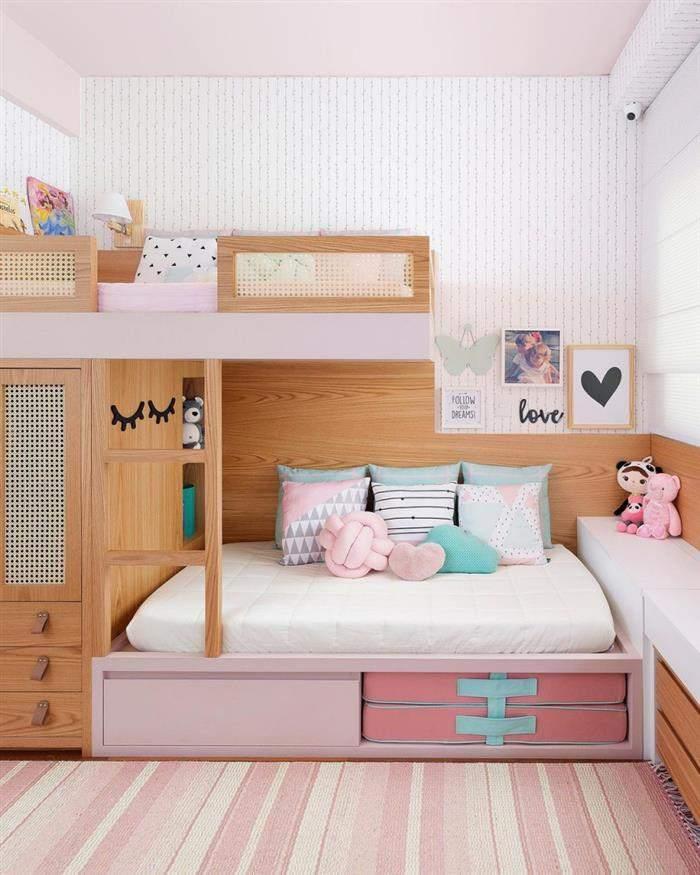 quarto infantil feminino rosa