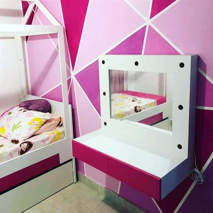 quarto infantil feminino simples e barato