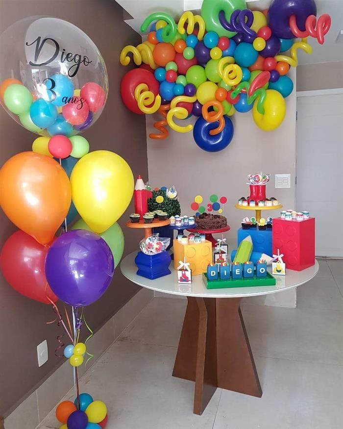 como preparar uma festa infantil simples e barata