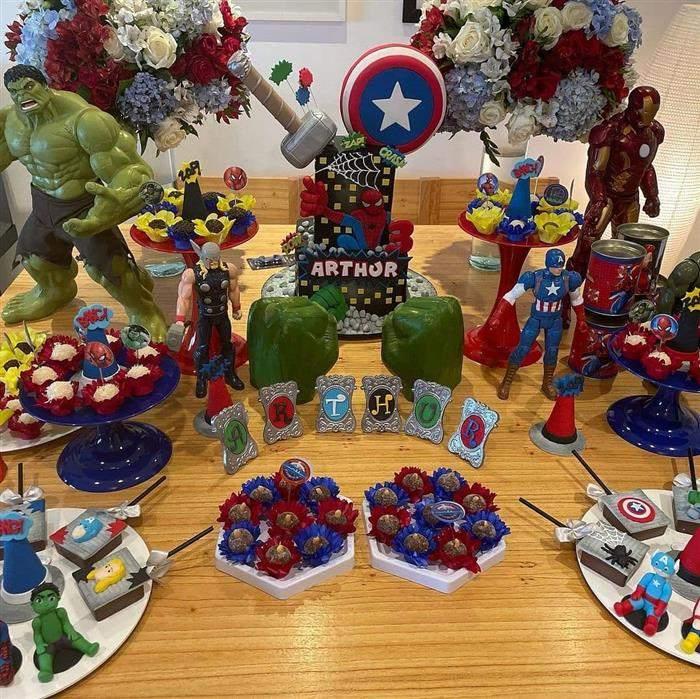festa infantil na mesa