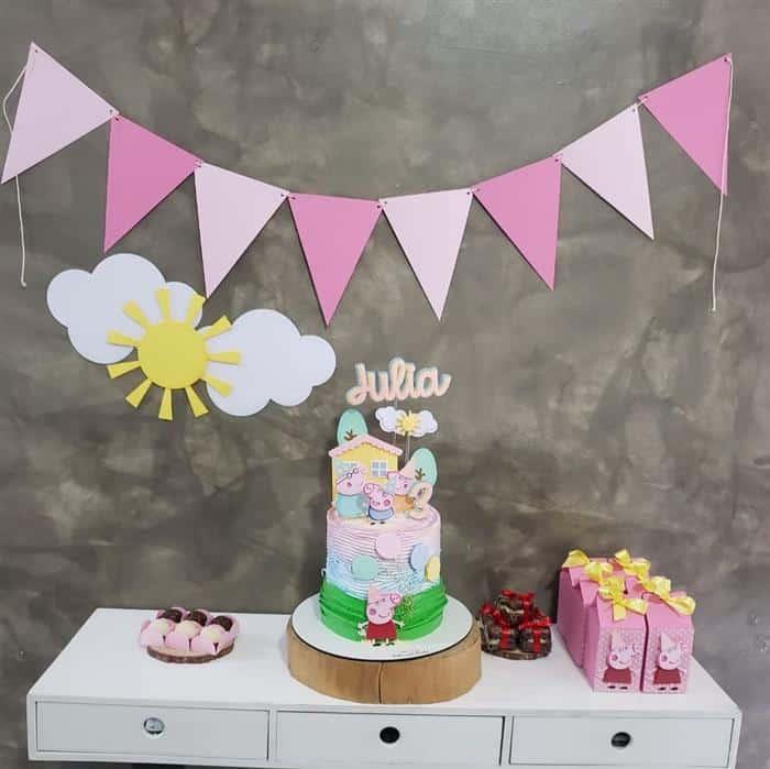 festa infantil simples bonita e barata