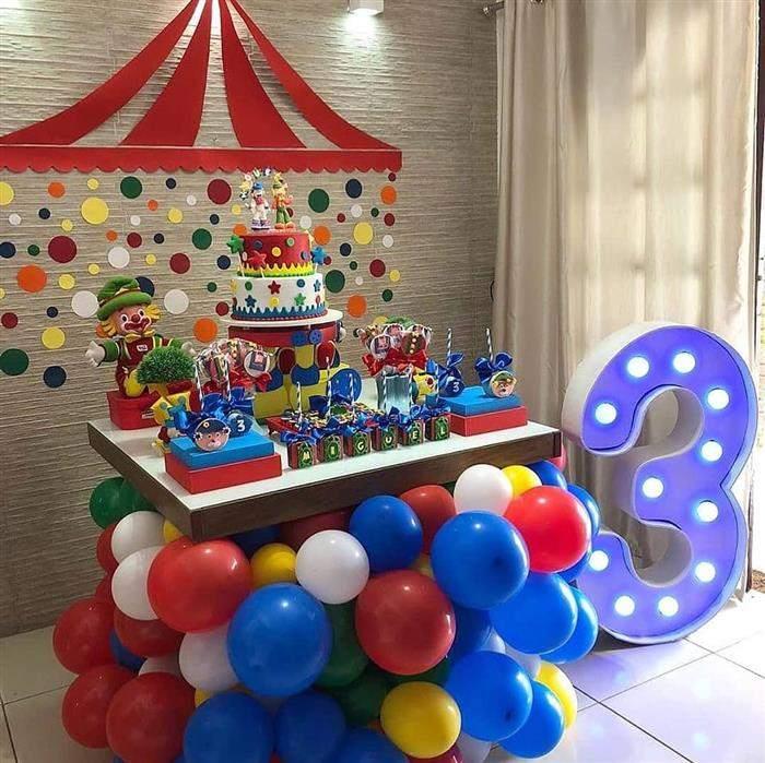 festa infantil simples em apartamento