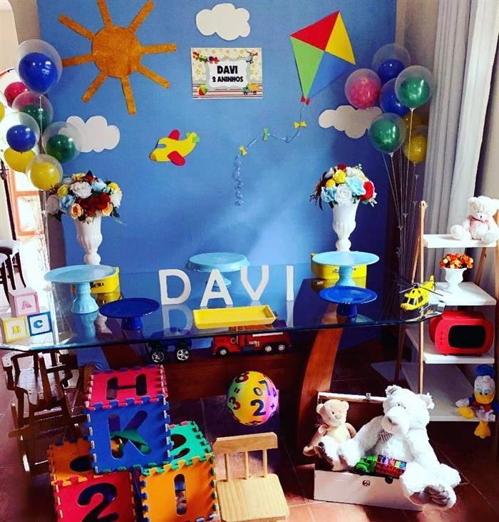 ideia simples festa infantil