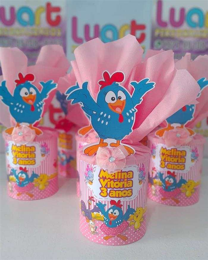 lata de leite ninho decorada com eva para festa infantil