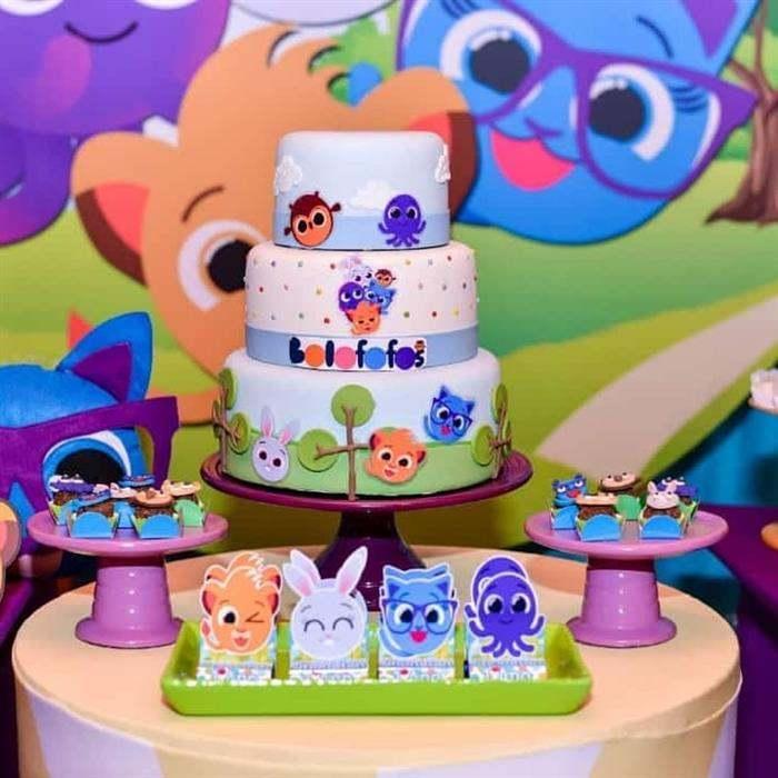 festa de aniversário do bolofofos