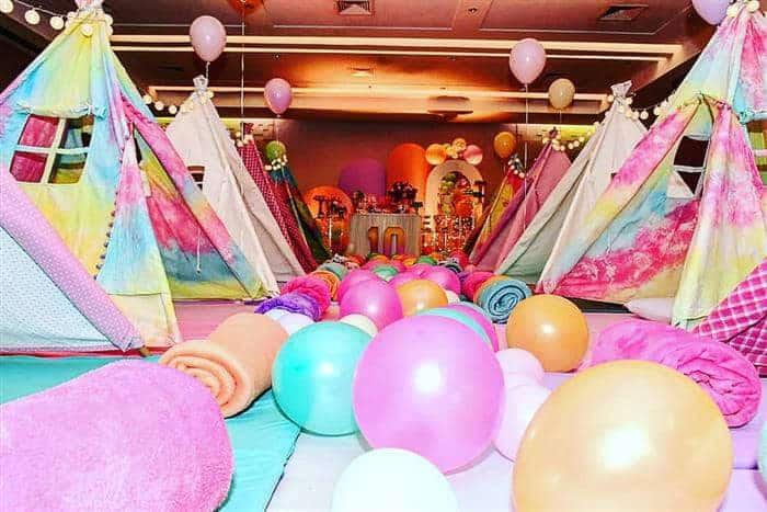 festa do pijama de aniversário