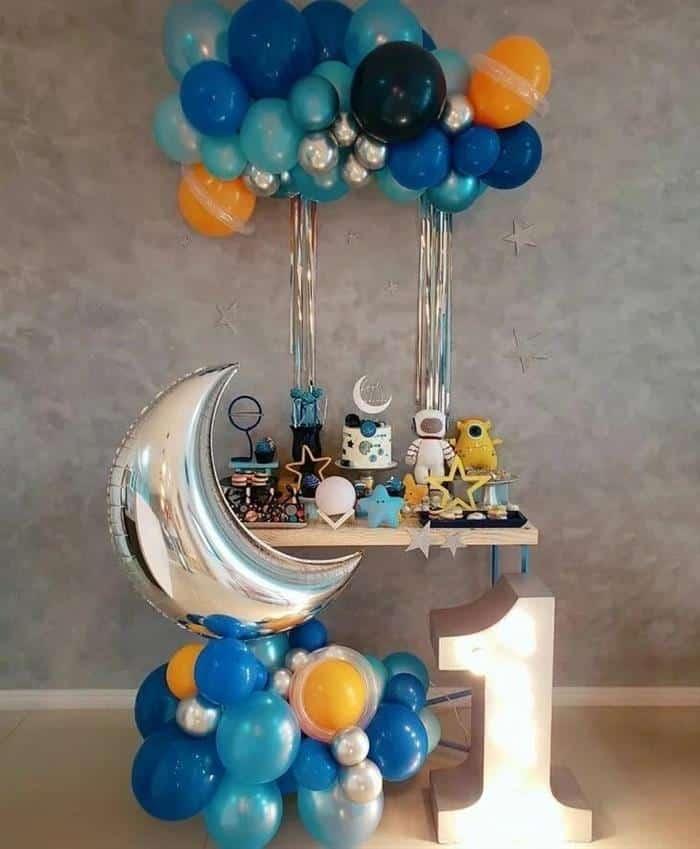 festa aniversario astronauta