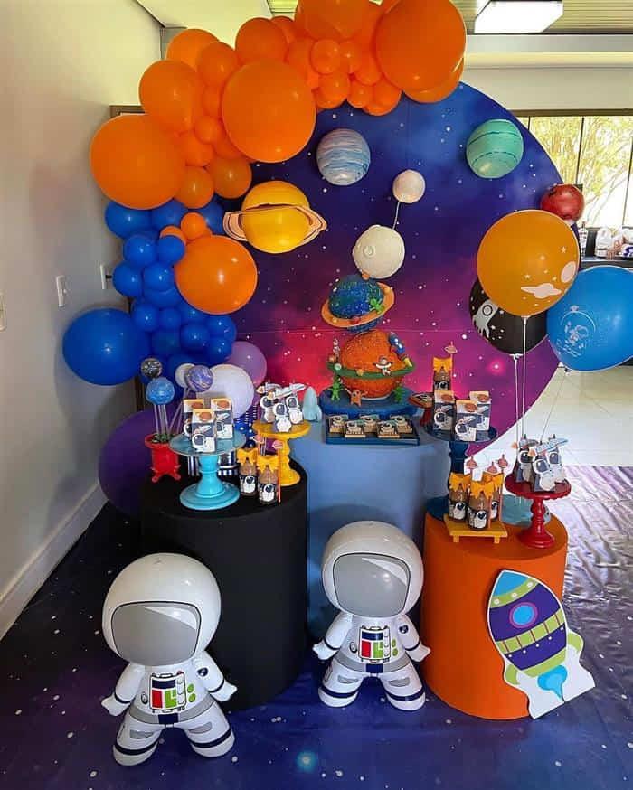 festa astronauta infantil