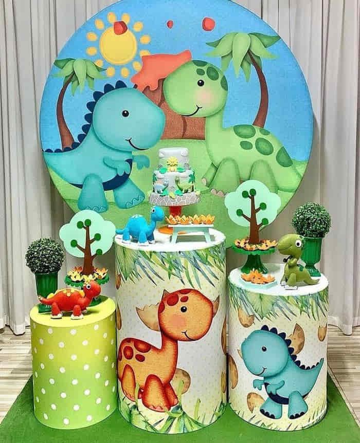 festa de dinossauro baby