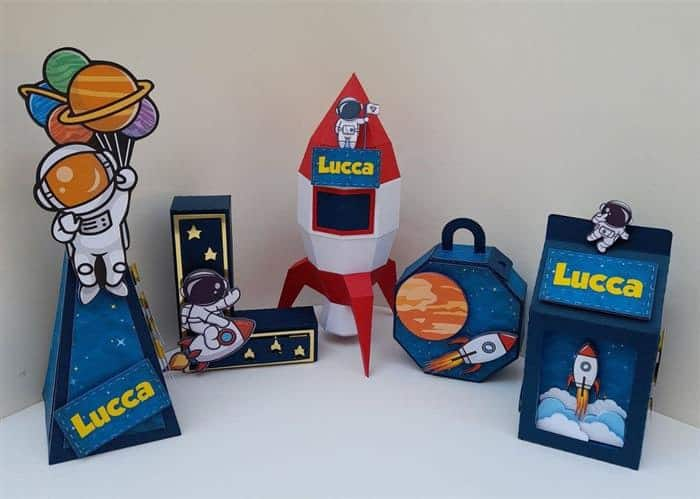 ideias para festa de astronauta